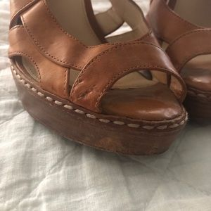 Coach Shoes - Leather Coach High Heeled Sandals